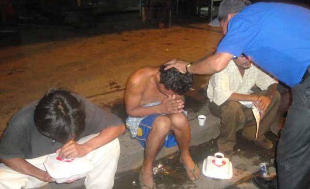 Los Ángeles de la Noche actúan en Nicaragua