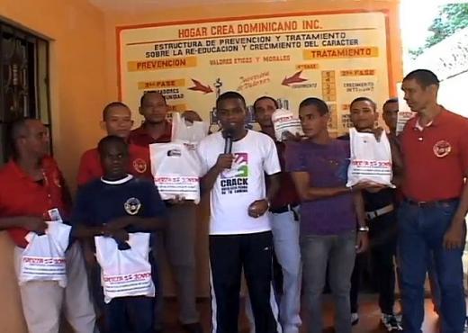 La Fuerza Joven apoya a adictos en recuperación en República Dominicana
