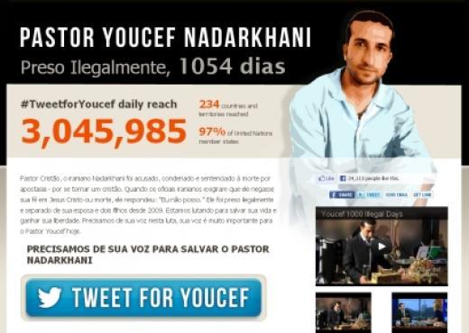 234 países ayudan con una campaña a favor del pastor iraní