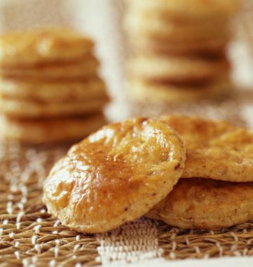 Recetas fáciles: Galletas de queso