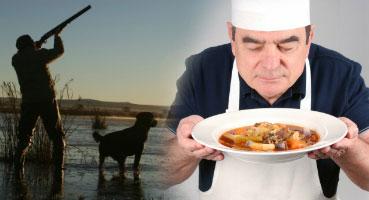 El cazador y el cocinero