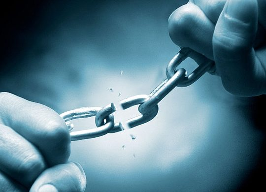 No pierda sus esperanzas, luche y sea libre de todo el mal