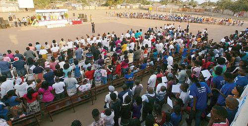 Concentración de Fe y Milagros en Mozambique