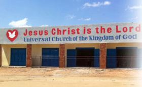 Una iglesia en Sudán