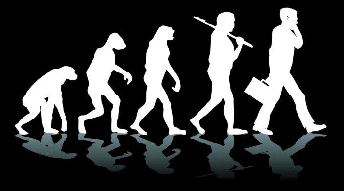 La evolución humana a través de las manos de Dios