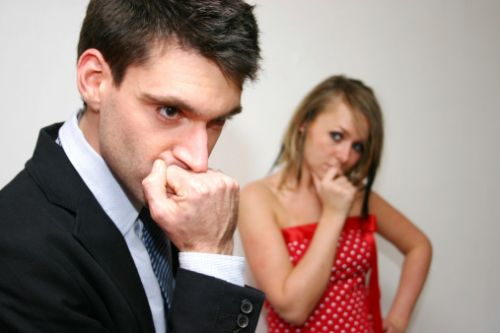 El desentendimiento en vísperas del casamiento