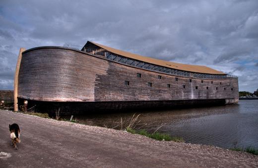 La réplica del Arca de Noé está abierta para visitarla en Holanda
