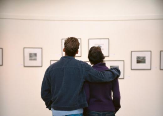 Los hombres que van a museos y galerías tienen menos estrés