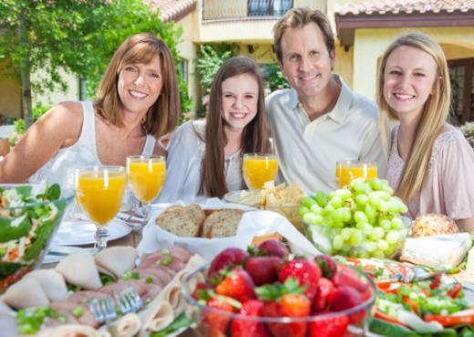 Alimentos saludables durante el verano