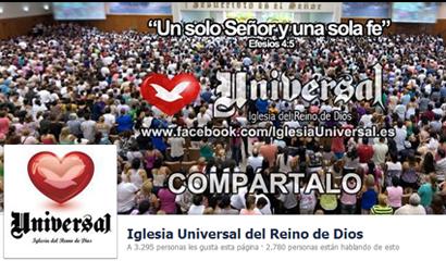 Acceda y haga parte de la IURD en Facebook