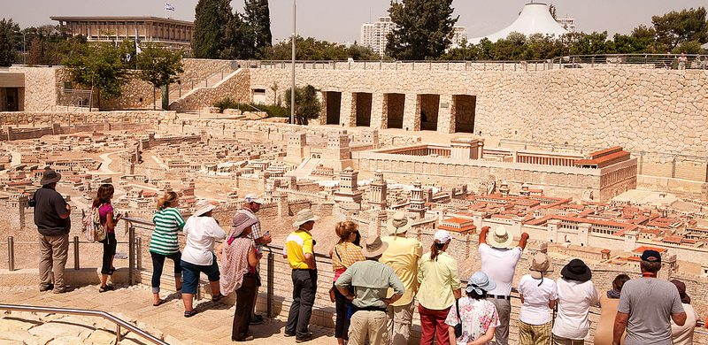 Aumenta el número de turistas en Israel
