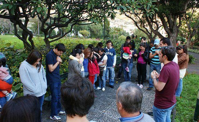 La Fuerza Joven Portugal realizó un encuentro entre padres e hijos