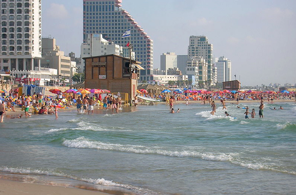 La playa en Tel Aviv está entre las 10 mejores del planeta