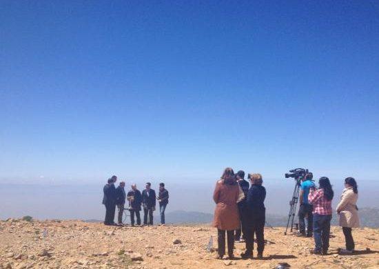 La visita del obispo Edir Macedo motiva circuitos turísticos al monte Hermón