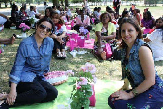 Rahab organizó un día de campo en Reino Unido