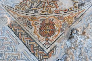 Hallazgo en Israel: encuentran un mosaico de 1,5 mil años en un kibutz