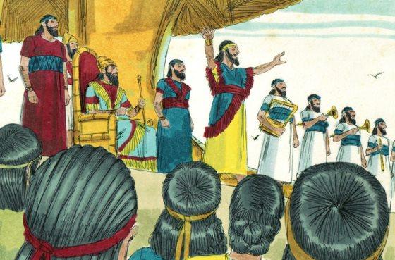 Nabucodonosor, el rey convertido