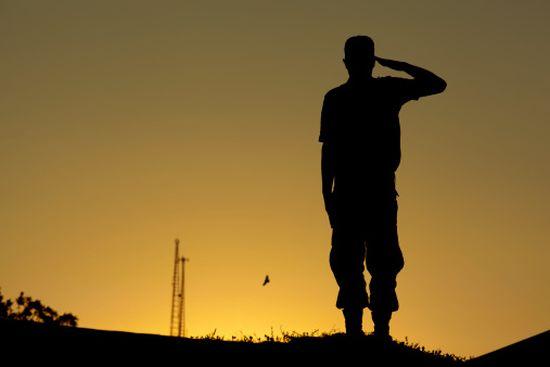 Un soldado tiene que tener disciplina
