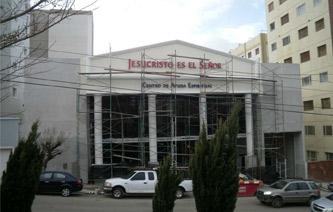 Avances de la construcción del nuevo Templo en Comodoro Rivadavia