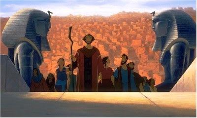 """La película: """"El Príncipe de Egipto"""""""