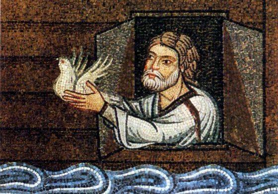 La paloma que liberó a Noé