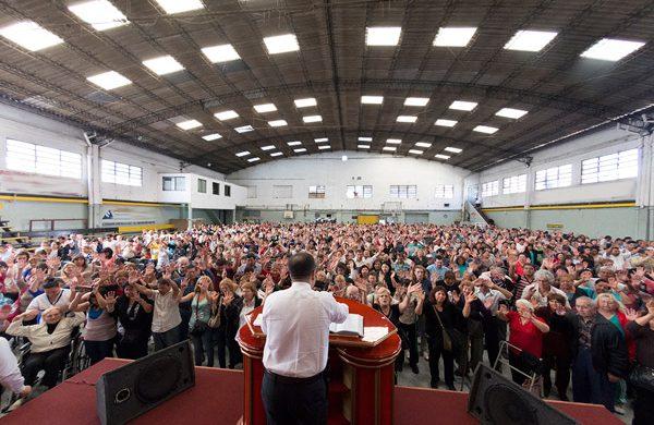 Gran concentración de fe en San Justo