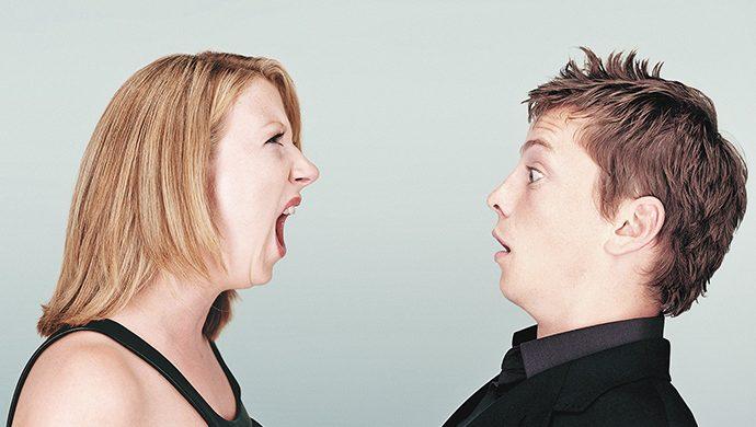 ¿Usted es la madre o la mujer de su marido?