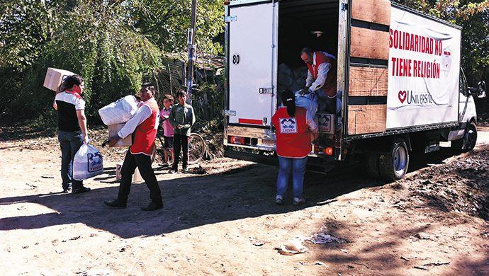 T-Ayudo y los inundados de Luján