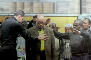 Oración por el presidente de Sudáfrica