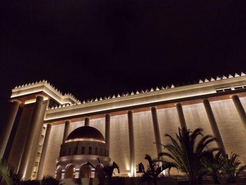 La luz del Templo