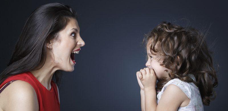 ¿Es normal gritarles a los hijos?