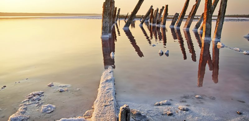 El mar muerto está realmente muriendo