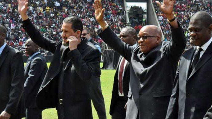 El presidente de Sudáfrica prestigia el trabajo de la Universal