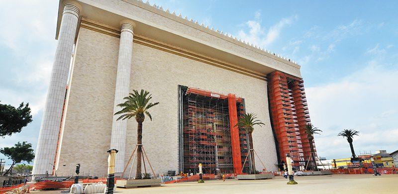 El Templo de Salomón tendrá detalles del tabernáculo