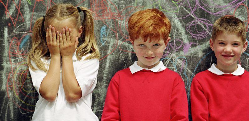 La timidez en niños y adolescentes