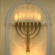 Cómo volverse iluminado como los candelabros del Templo