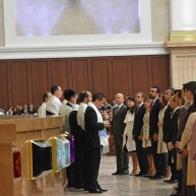 Vea la consagración de los nuevos obispos en el Templo de Salomón