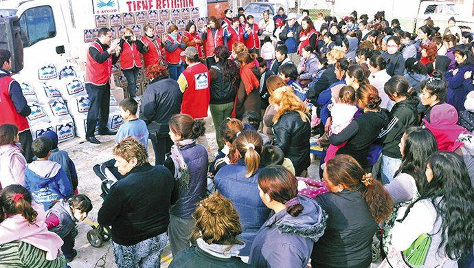 Haras del Trujui, en Moreno, recibió ayuda
