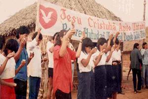 Mi vida en la tribu de los indios Xavantes