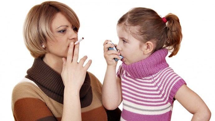 Padres fumadores, hijos enfermos