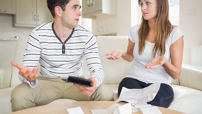 Las peleas por dinero, un gran causante de divorcio