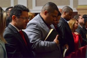 1º Encuentro Nacional de Ministros en el Templo de Salomón
