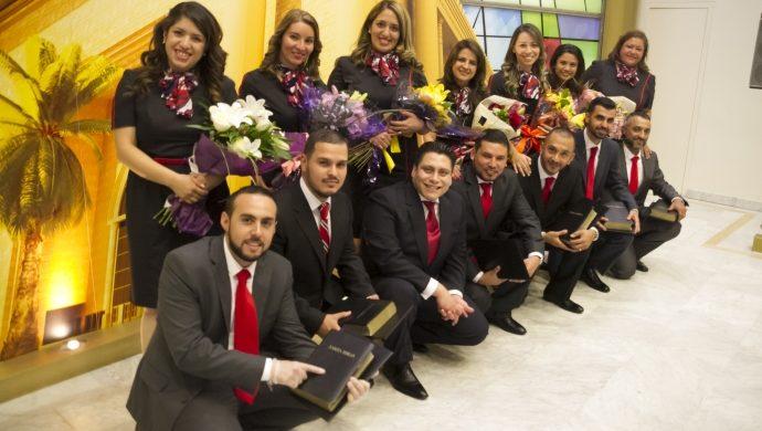 Siete pastores fueron consagrados en España