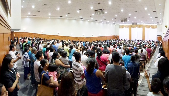 Noche de la Salvación en Bolivia
