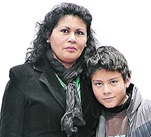 Solo una madre sabe lo que vale ver a su hijo sano