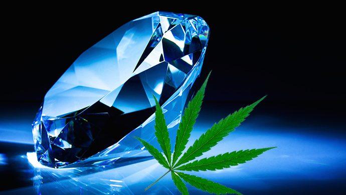 ¿Usted cambiaría un diamante por un poco de marihuana?