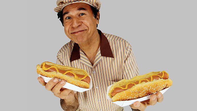 La fábula del vendedor de Hot dog y la prensa