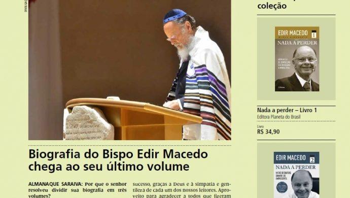 """El obispo Macedo concede una entrevista sobre """"Nada que Perder 3"""""""