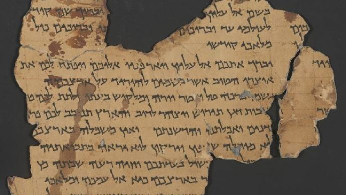Usted puede ver los Manuscritos del Mar Muerto