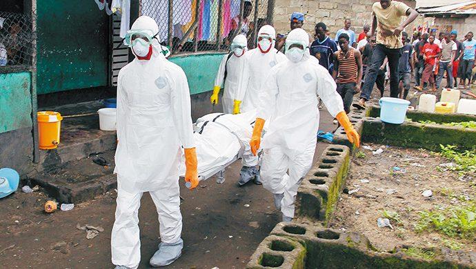Ébola, peligro mundial